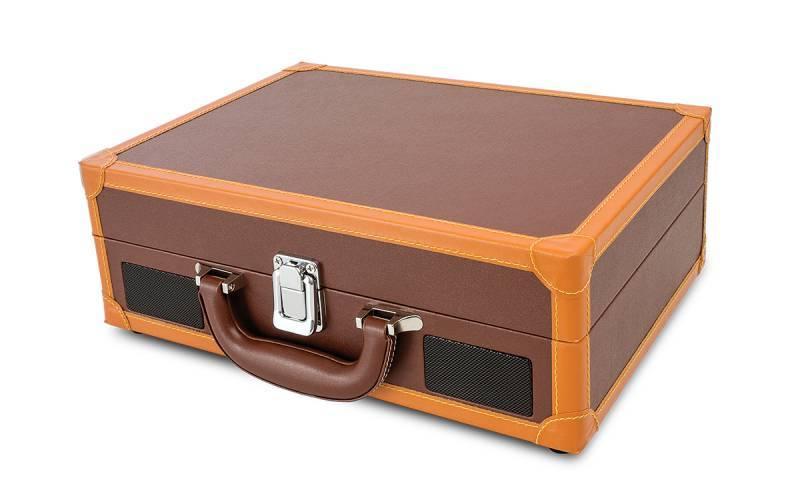 Виниловый проигрыватель ION Audio MOTION DELUXE brown коричневый - фото 2