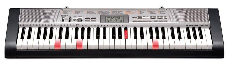 Синтезатор Casio LK-130 черный - фото 1