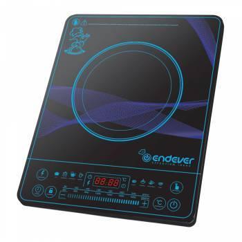 Плита электрическая Endever Skyline IP-32 черный, настольная, поверхность закаленное стекло, индукционных конфорок: 1, сенсорное управление