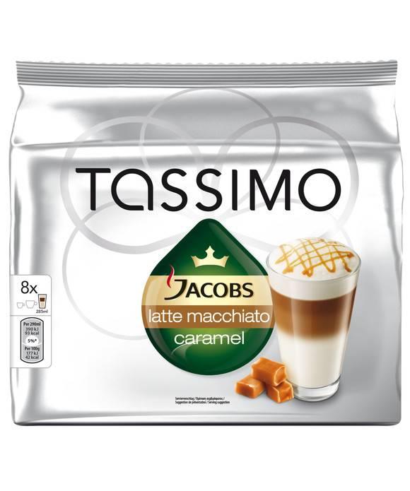 Кофе капсульный Tassimo Latte Caramel упак.:8капс. (8050046) - фото 2