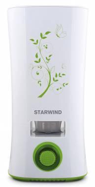 Увлажнитель воздуха Starwind SHC4210 белый / зеленый