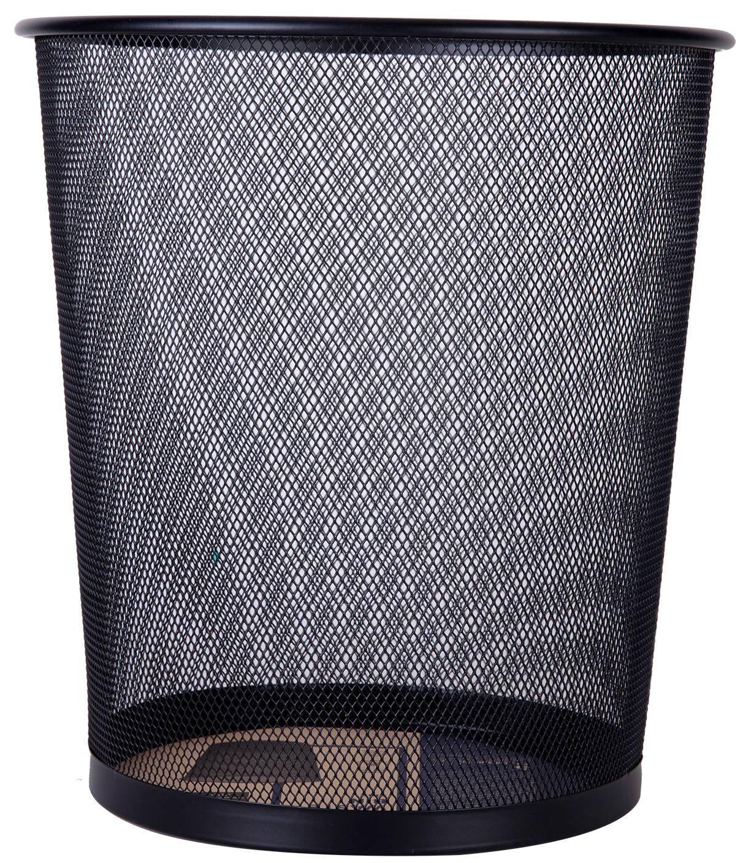 Корзина для бумаг Deli E9190 12л. черный - фото 1