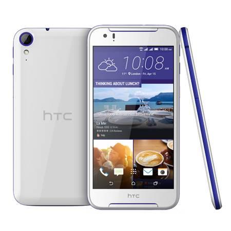 Смартфон HTC 830G белый/голубой - фото 1
