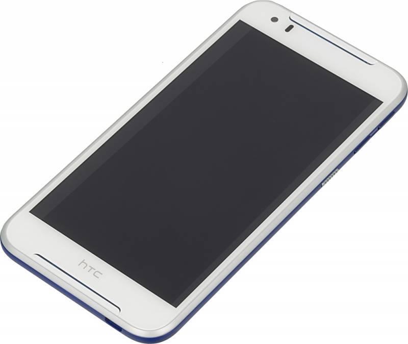 Смартфон HTC 830G белый/голубой - фото 4