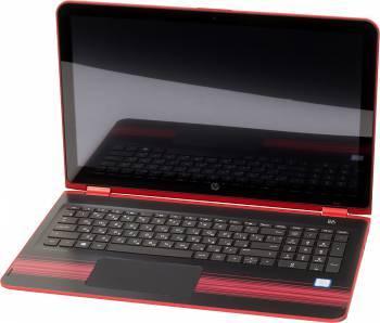 Трансформер 15.6 HP Pavilion x360 15-bk003ur красный