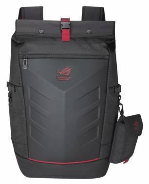 """Рюкзак для ноутбука 17"""" Asus ROG Ranger черный/красный (90XB0310-BBP010)"""