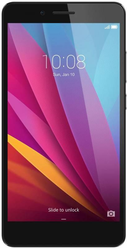 Смартфон Huawei Honor 5X 16ГБ графит - фото 3
