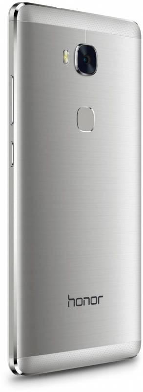 Смартфон Huawei Honor 5X 16ГБ серебристый - фото 3