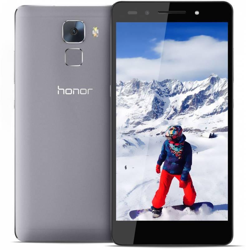 Смартфон Huawei Honor 7 16ГБ графит - фото 1