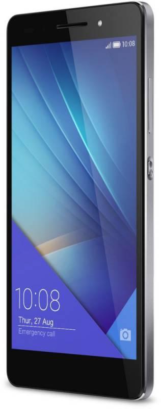 Смартфон Huawei Honor 7 16ГБ графит - фото 2