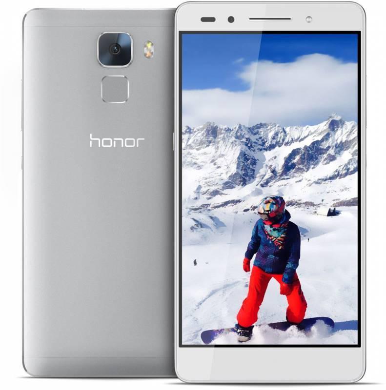 Смартфон Huawei Honor 7 16ГБ серебристый - фото 1