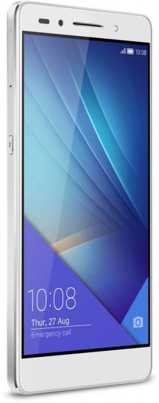 Смартфон Huawei Honor 7 16ГБ серебристый - фото 3