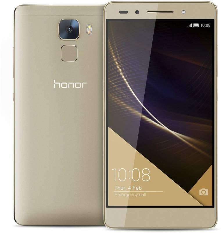 Смартфон Huawei Honor 7 Premium 32ГБ золотистый - фото 1