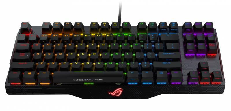 Клавиатура Asus ROG Claymore Core Black Switches черный - фото 1