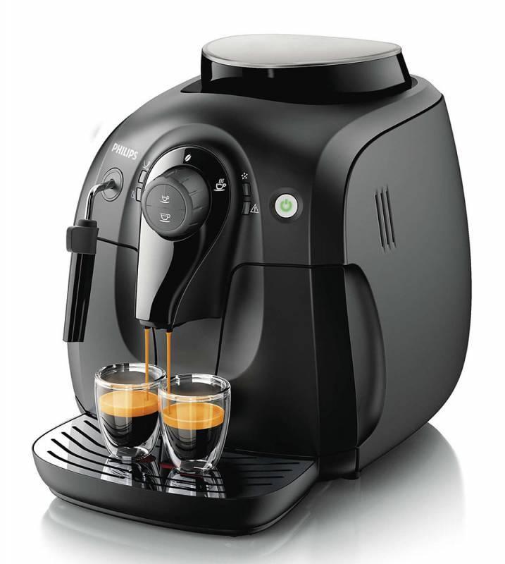 Кофемашина Philips HD8649/01 черный - фото 1
