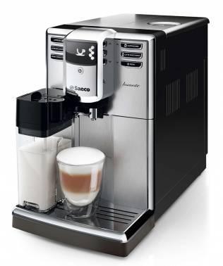 Кофемашина Saeco Incanto HD8918 / 09 серебристый / черный