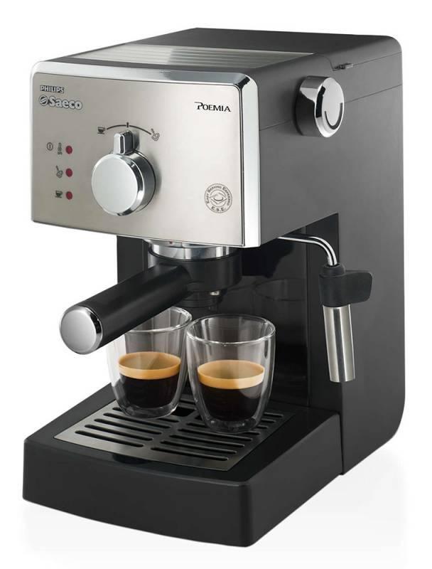 Кофеварка эспрессо Philips ABC CLASS HD8325/79 серый/черный - фото 1