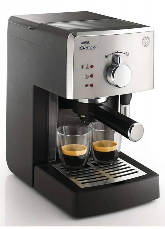 Кофеварка эспрессо Philips ABC CLASS HD8325/79 серый/черный - фото 2