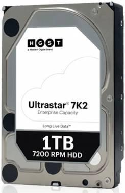 Жесткий диск 1Tb HGST HUS722T1TALA604 ULTRASTAR 7K2 (7200 об/мин) 128МБ 3.5 SATA-III (1W10001)