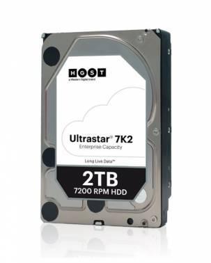 Жесткий диск 2Tb HGST Ultrastar 7K2 HUS722T2TALA604 SATA-III (1W10002)
