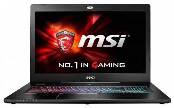 Ноутбук 17.3 MSI GS72 6QE(Stealth Pro)-437RU черный