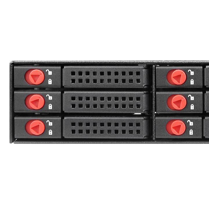 Сменный бокс для HDD/SSD Thermaltake Max 2506 SATA I/II/III черный (ST-009-M21STZ-A2) - фото 1