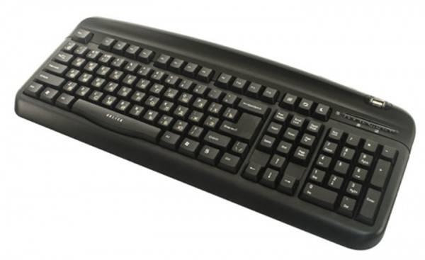 Клавиатура Oklick 300M черный - фото 2
