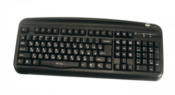 Клавиатура Oklick 300M черный - фото 3