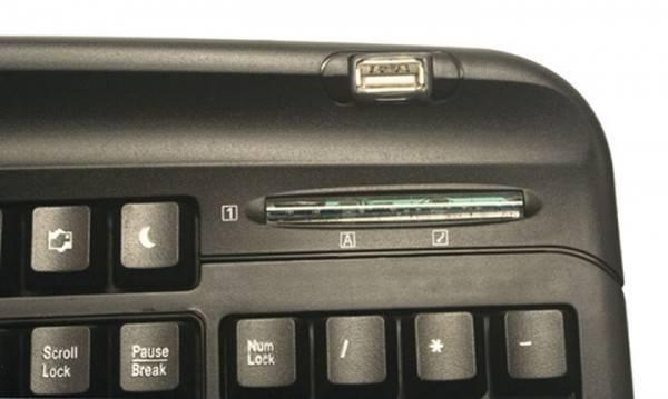 Клавиатура Oklick 300M черный - фото 4