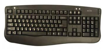 Клавиатура Oklick 340M черный