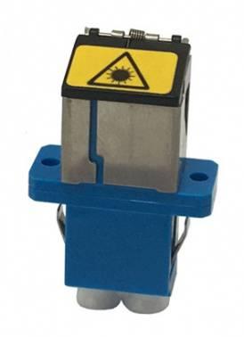 Адаптер проходной Molex 18282-0045 LC duplex OS1/OS2 голубой