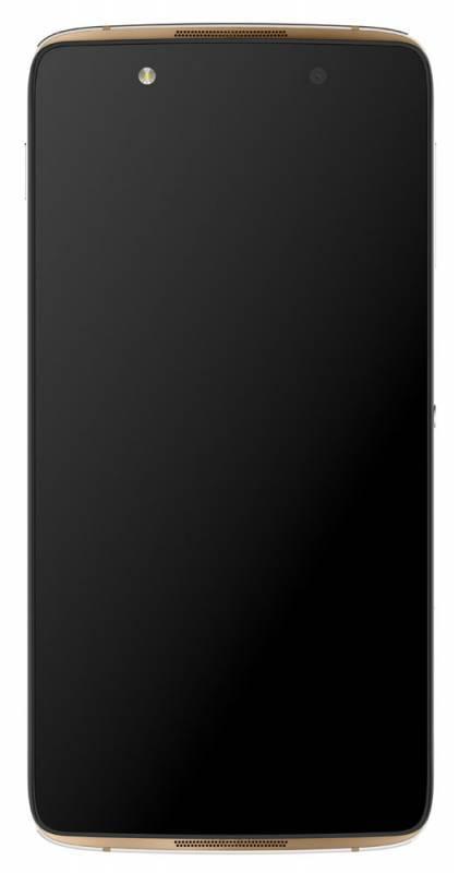 Смартфон Alcatel Idol 4 6055K 16ГБ золотистый - фото 1
