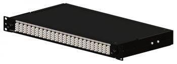 """Полка оптическая Brand-Rex SmartPatch SM IPSC1SXSM48LC2 19"""" выдвижная 1U порт.:24 LC дуплекс"""