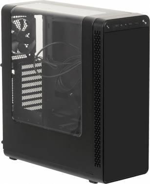 Корпус Thermaltake View 27 черный, w/o PSU, нижнее расположение БП, форм-фактор ATX, длина видеокарты до 410мм, 4x120mm, разъемы 2xUSB2.0, 1xUSB3.0, audio