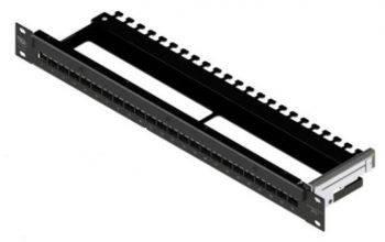 """Патч-панель наборная Brand-Rex SmartPatch IPSPNLX24SIJ2M 19"""" 1U 24x"""