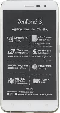 Смартфон Asus ZenFone ZF3 ZE520KL 32ГБ белый
