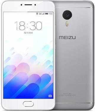 Смартфон Meizu L681H M3 Note серебристый/белый, встроенная память 16Gb, дисплей 5.5 1920x1080, Android 5.1, камера 13Mpix, поддержка 3G, 4G, 2Sim, 802.11abgnac, BT, GPS, microSD до 128Gb (L681H 16GB SILVER/WHITE)