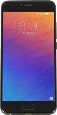 Смартфон Meizu M570H Pro 6 32Gb серый/черный моноблок 3G 4G 2Sim 5.2 1920x1080 Android 6.0 21.16Mpix 802.11abgnac BT GPS GSM900/1800 GSM1900 MP3 A-GPS (M570H 32GB BLACK)
