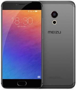 Смартфон Meizu Pro 6 M570H 64ГБ серый / черный
