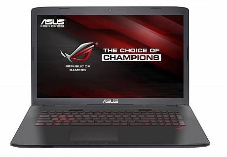 """Ноутбук ASUS GL752VW-T4031T  17.3"""" 1920x1080 Intel Core i7 6700HQ 2.6ГГц 8192МБ DDR4 1000Гб DVD-RW nVidia GeForce GTX 960M 2048МБ Windows 10 64-bit BT - фото 1"""