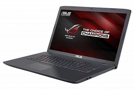 """Ноутбук ASUS GL752VW-T4031T  17.3"""" 1920x1080 Intel Core i7 6700HQ 2.6ГГц 8192МБ DDR4 1000Гб DVD-RW nVidia GeForce GTX 960M 2048МБ Windows 10 64-bit BT - фото 2"""