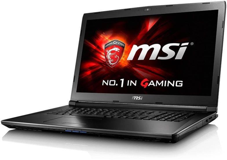 """Ноутбук 15.6"""" MSI GL62 6QC-208RU черный - фото 1"""