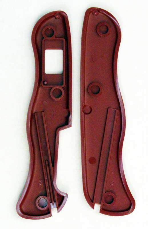 Набор накладок для перочинных ножей Victorinox красный (C.8900.9+C.8900.4) - фото 2