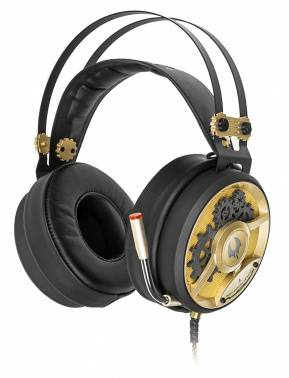 Наушники с микрофоном A4 Bloody M660 черный/бронзовый (A4TECH M660)