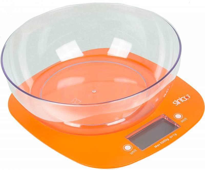 Кухонные весы Sinbo SKS 4522 оранжевый - фото 2