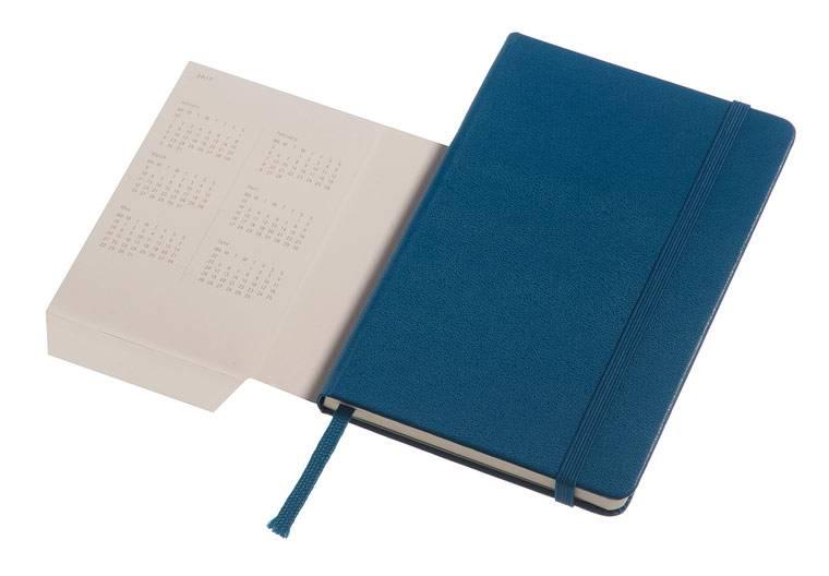 Еженедельник Moleskine CLASSIC WKNT POCKET карманный 144стр. синий стальной - фото 6