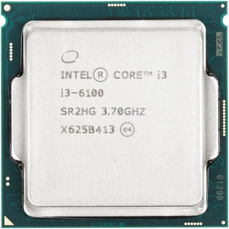 Процессор Intel Core i3 6100 Socket-1151 BOX - фото 1