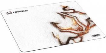 Коврик для мыши Asus Cerberus Arctic белый / рисунок