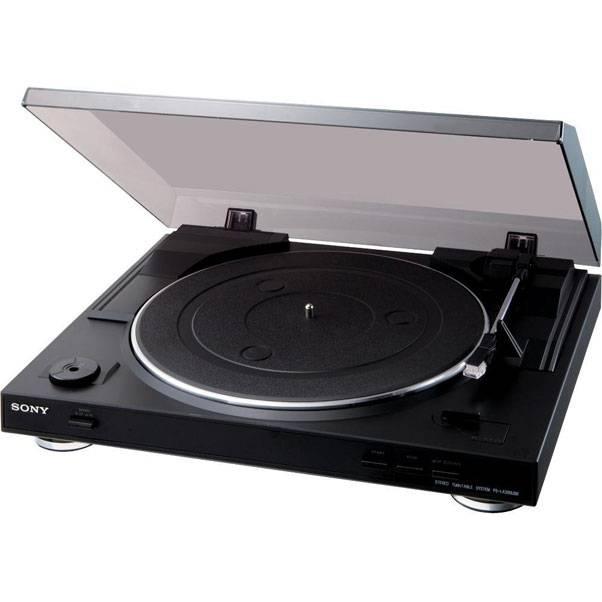 Виниловый проигрыватель Sony PS-LX300USB черный (PSLX300USB.CEL) - фото 1