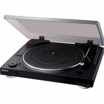 Виниловый проигрыватель Sony PS-LX300USB черный (PSLX300USB.CEL)